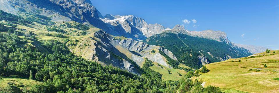 Les Deux Alpes in the summer