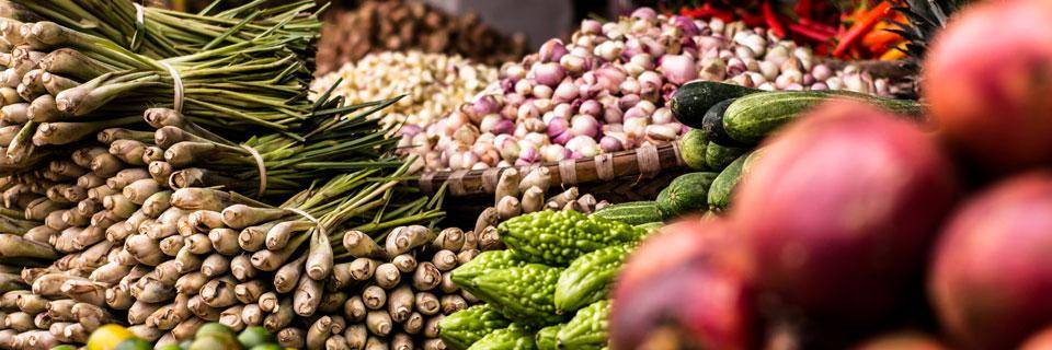 Fruit and veg from Provence